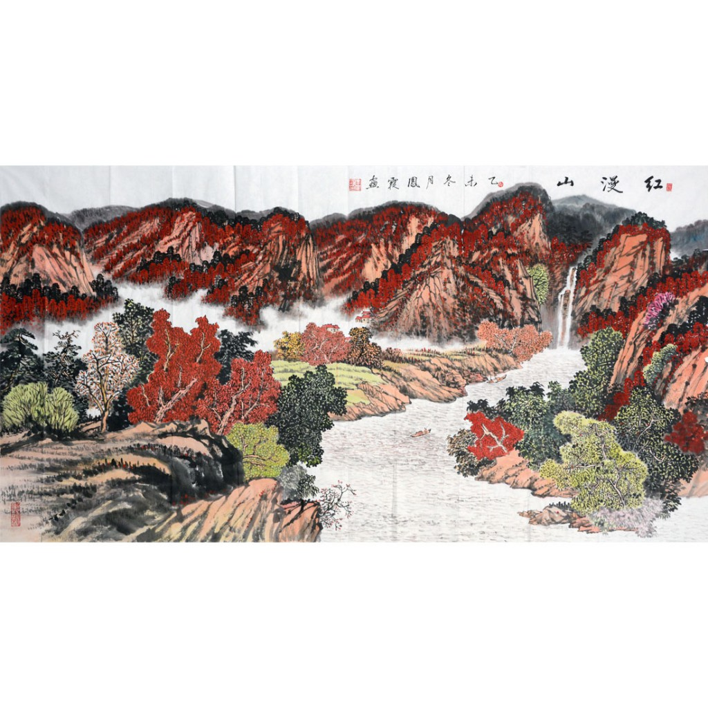红漫山  (180cm*97cm)