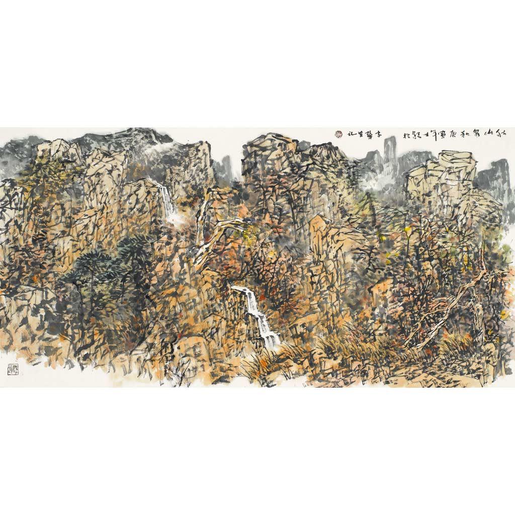 秋山泉和68cmX137cm