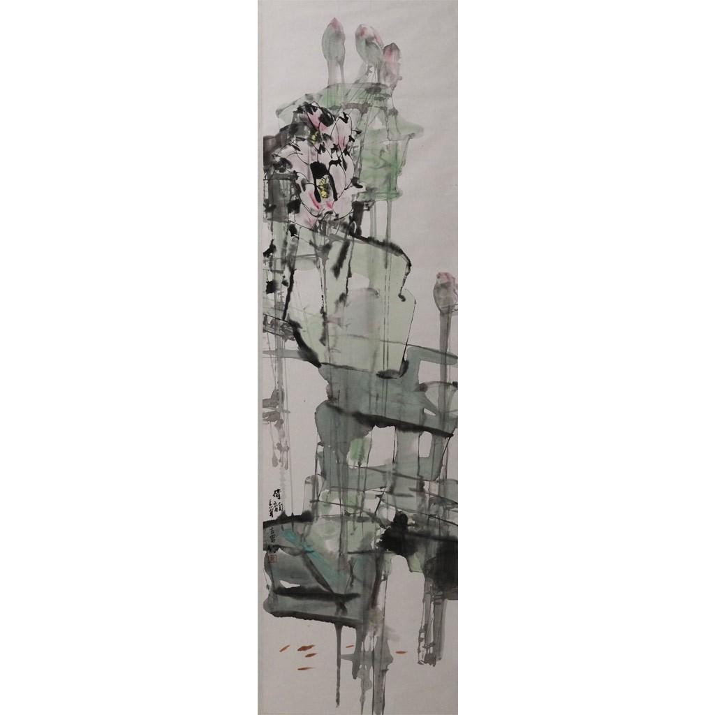 荷韵 (180cm*48cm)
