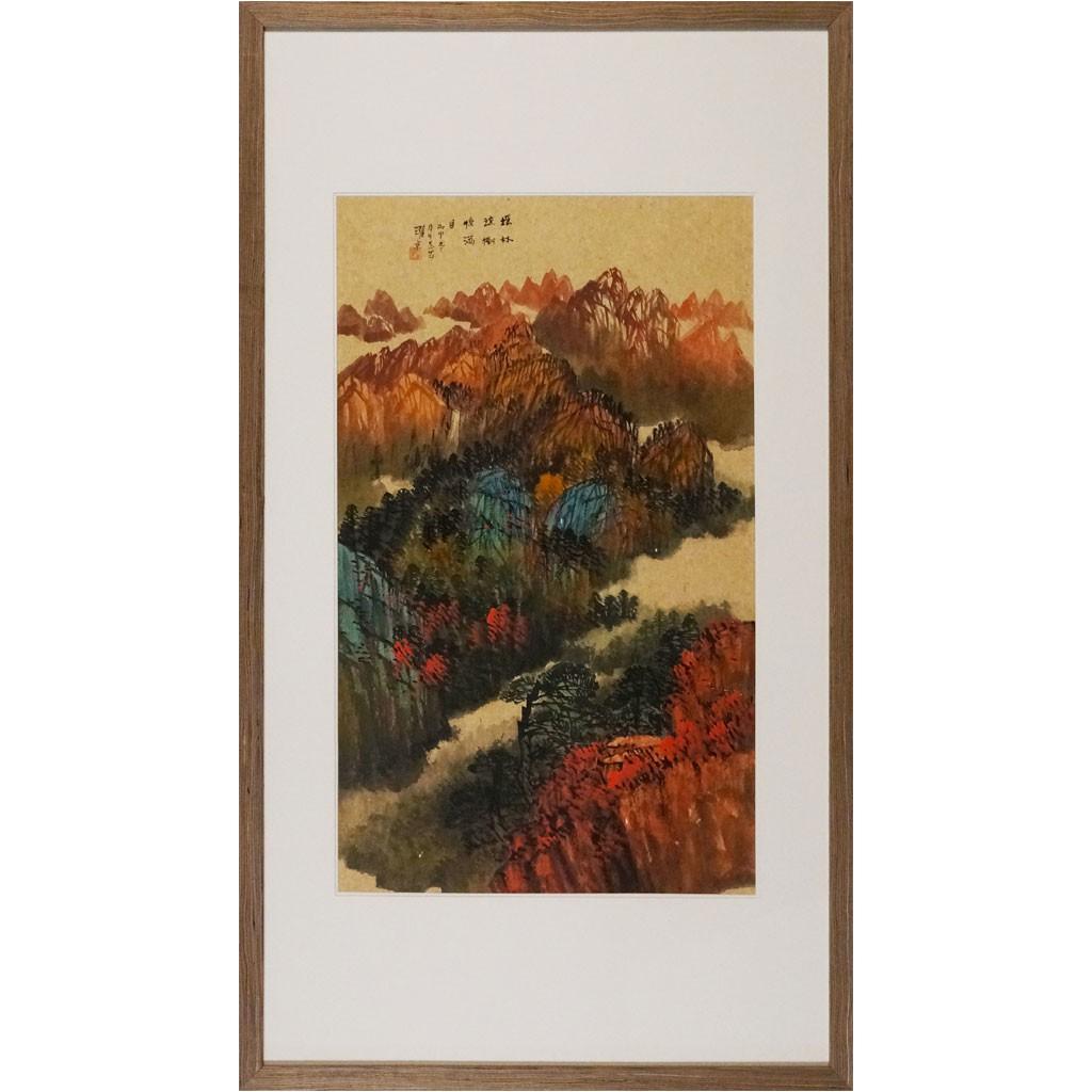 瑶林琼树惊满月 (72cm*43cm)