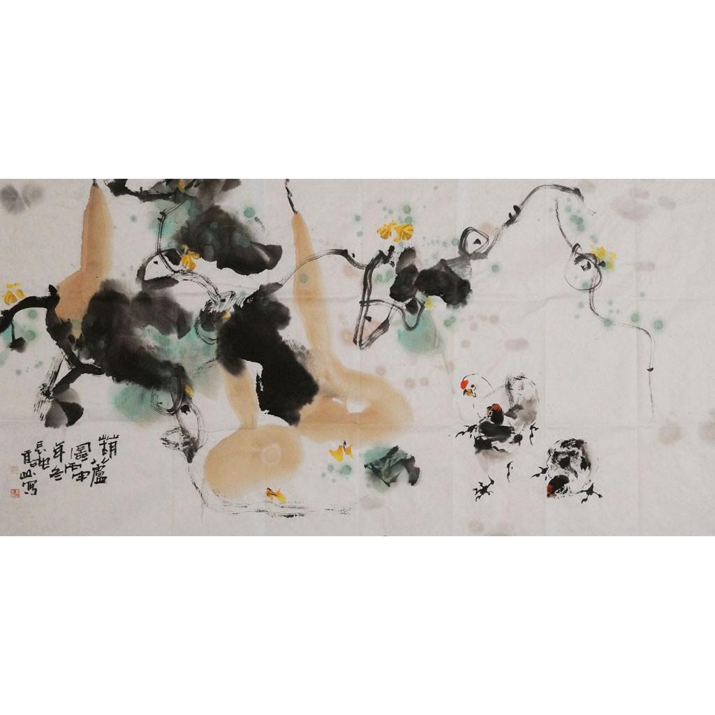 葫芦 (138cm69cm)兰台藏品