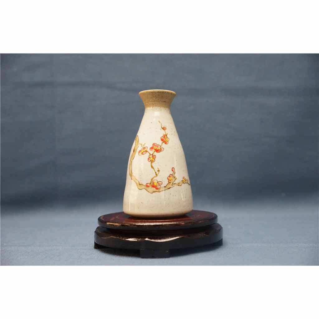 粗陶彩绘花瓶7