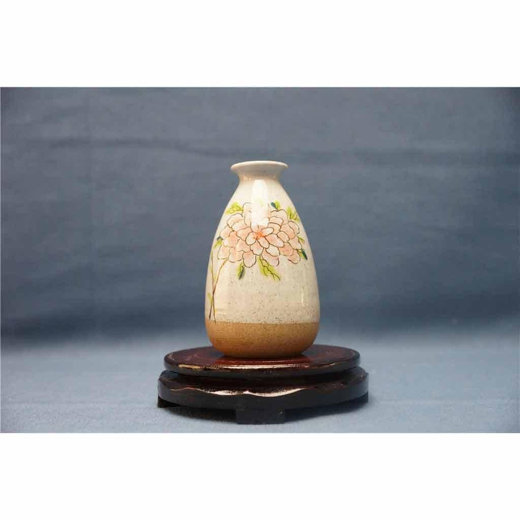 粗陶彩绘花瓶9