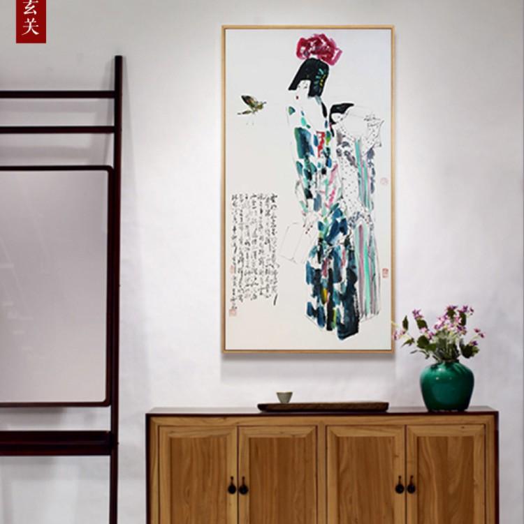 云想衣裳花想容  (68cm*136cm)