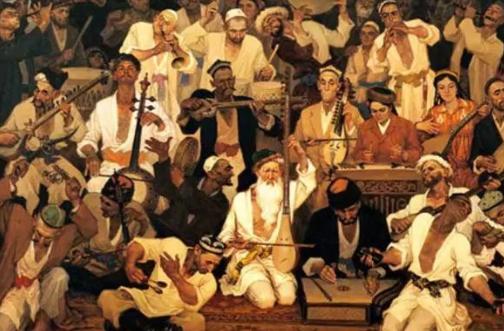 非遗 活态传承的另一种表达:兰台民间传统文艺课之新疆木卡姆