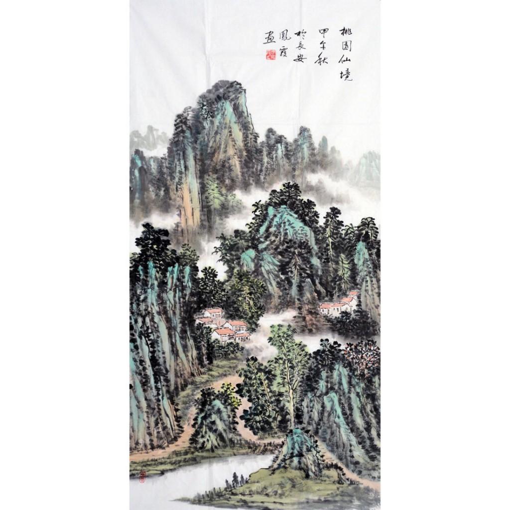 桃园仙境  (138cm*69cm)