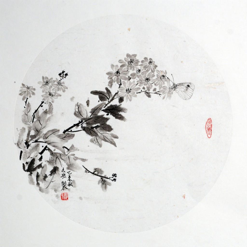 菊花  49cm*49cm