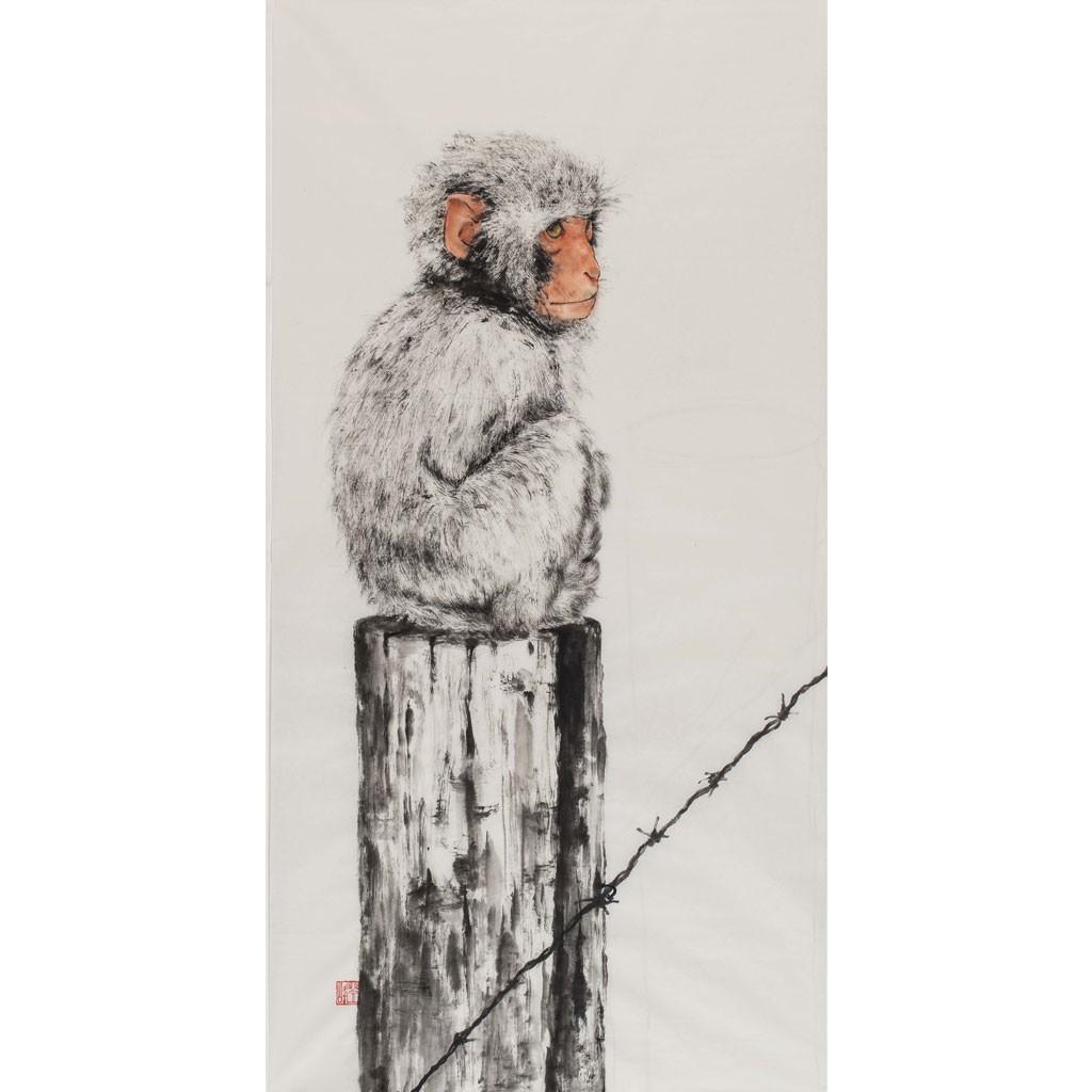 猴  (138cm*69cm)