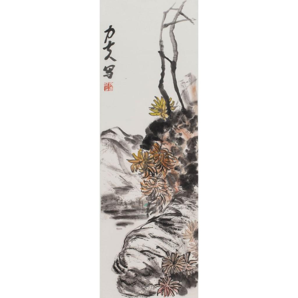 秋菊(100cm*27cm)