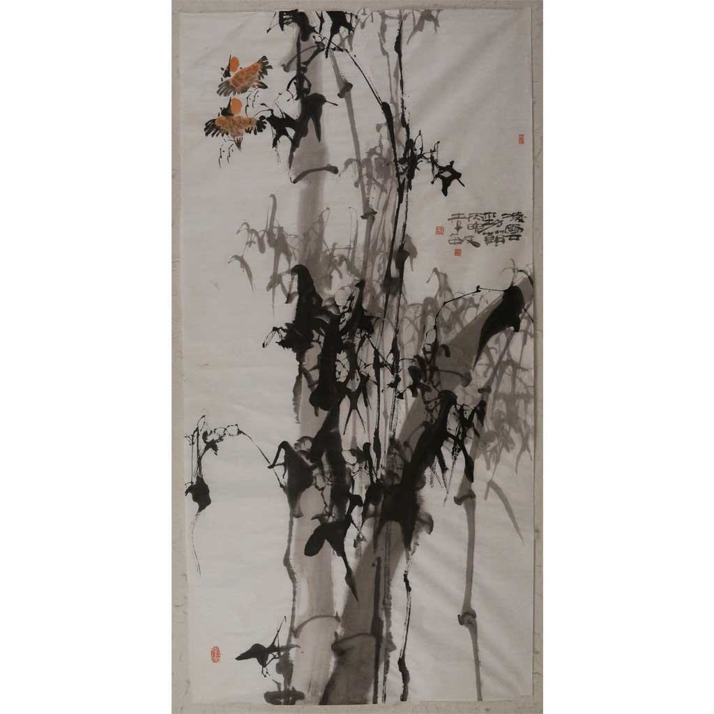 凌云劲竹(138cm*69cm)