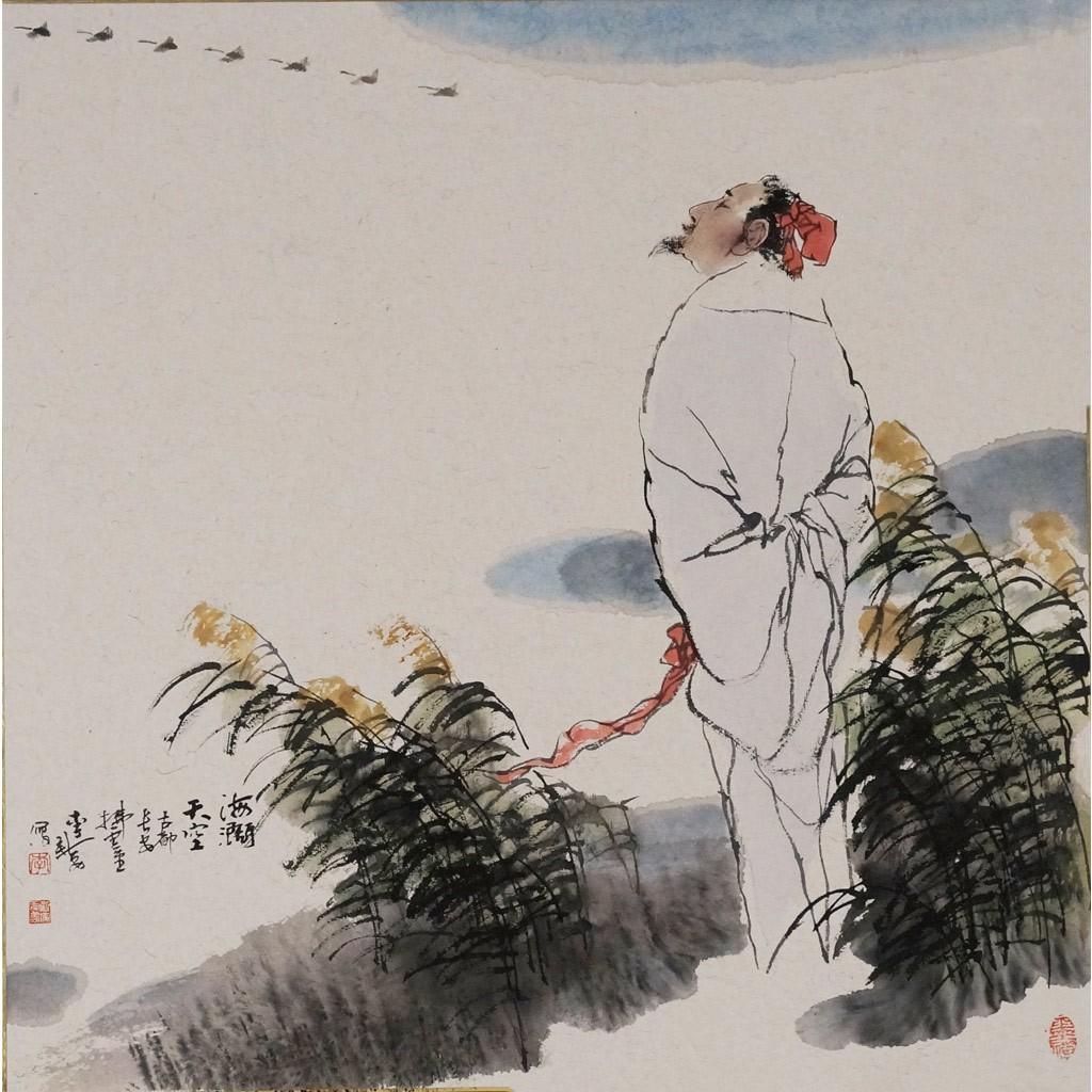 李白 (50cm*50cm)