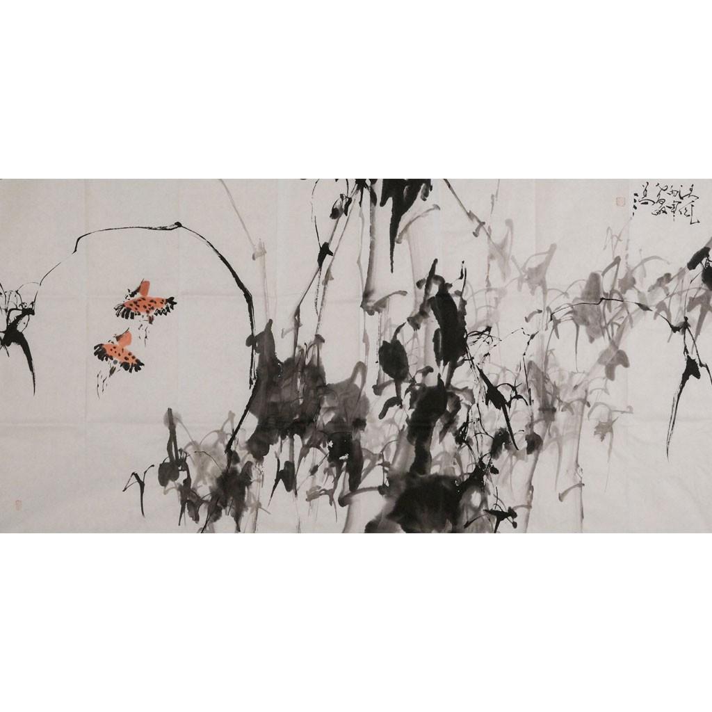 凌风 (138cm*69cm)兰台藏品