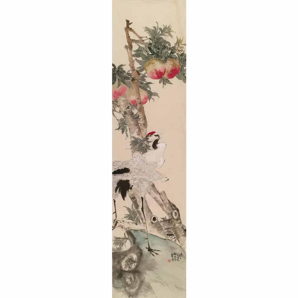 花鸟7 (33cm*130cm)