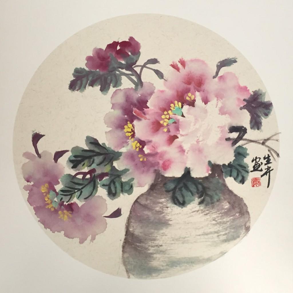 瓶花(50cm*50cm)