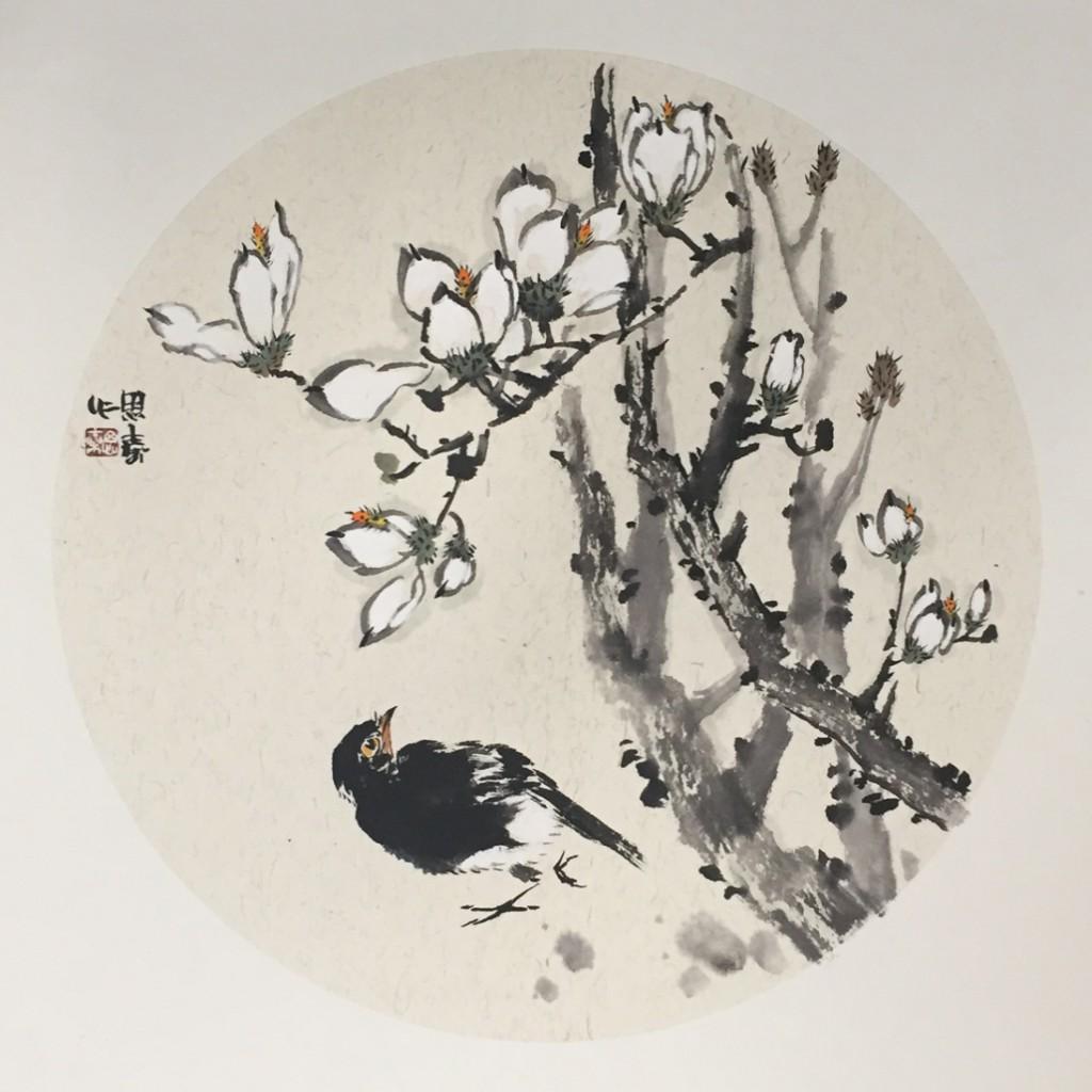花鸟(50cm*50cm)